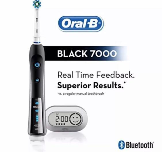 Oral-B Black 7000 Pro SmartSeries