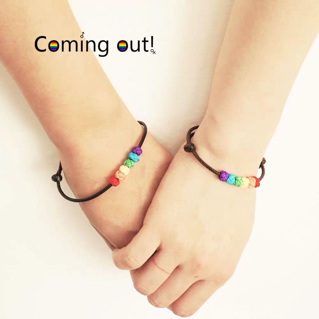 [PO] lgbt+ bracelets!!