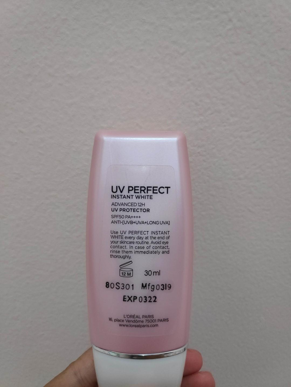 (PRELOVED) Loreal UV Perfect Instan White