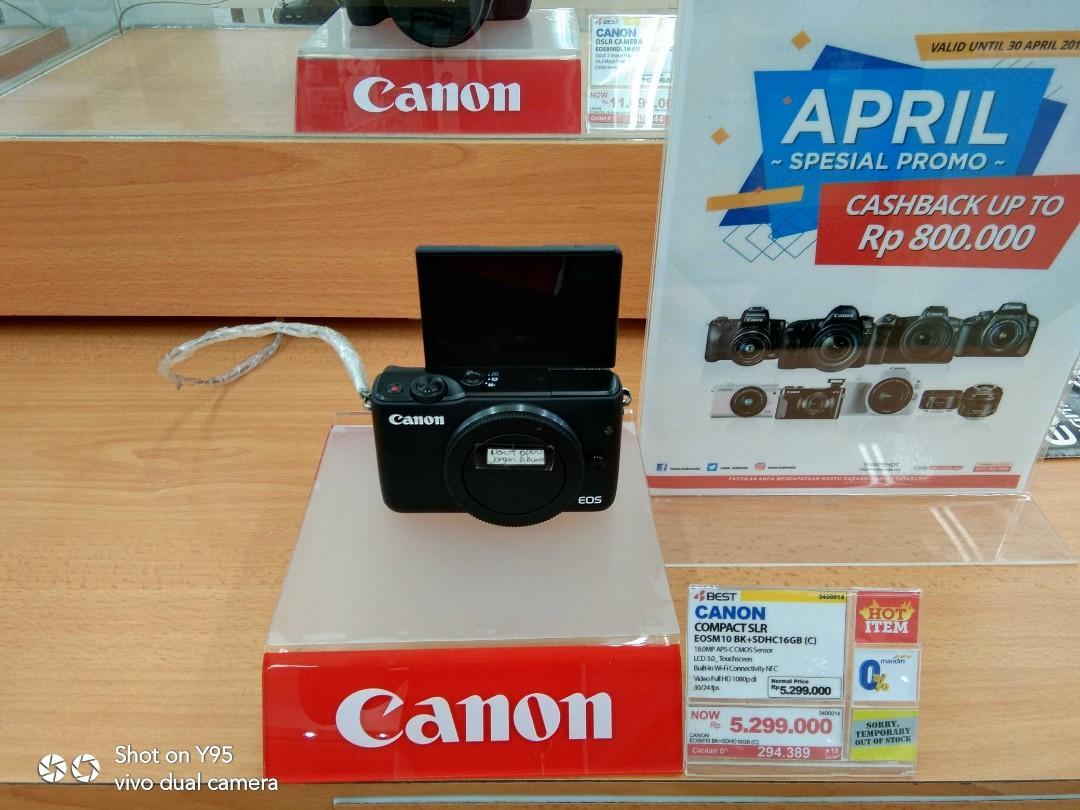 Promo cicilan 0% Canon Camera bisa di kredit tanpa kartu kredit