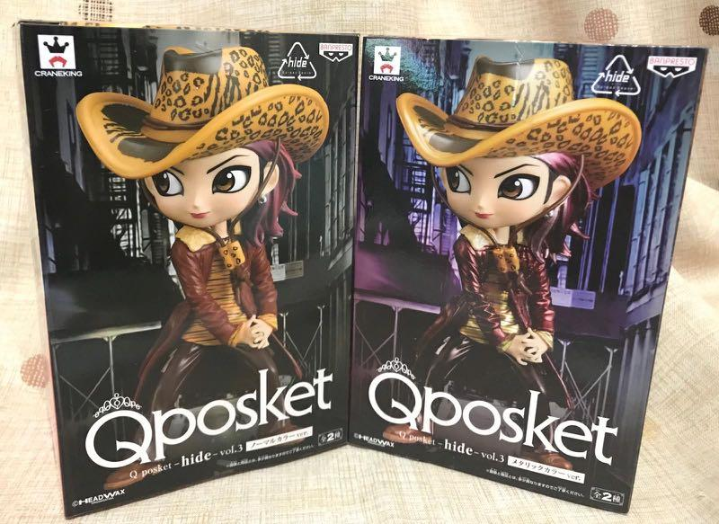 Qposket X-Japan 松本秀人 hide Vol.3 A+B色 一套兩款