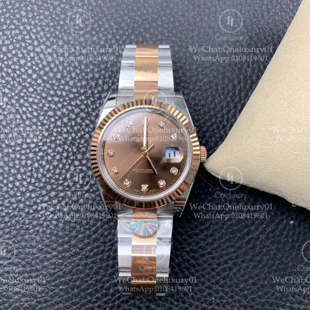"Rolex Datejust 41mm 18K Everose Gold ""Chocolate"" ✅Swiss Grade Authentic Quality (Top Quality)"