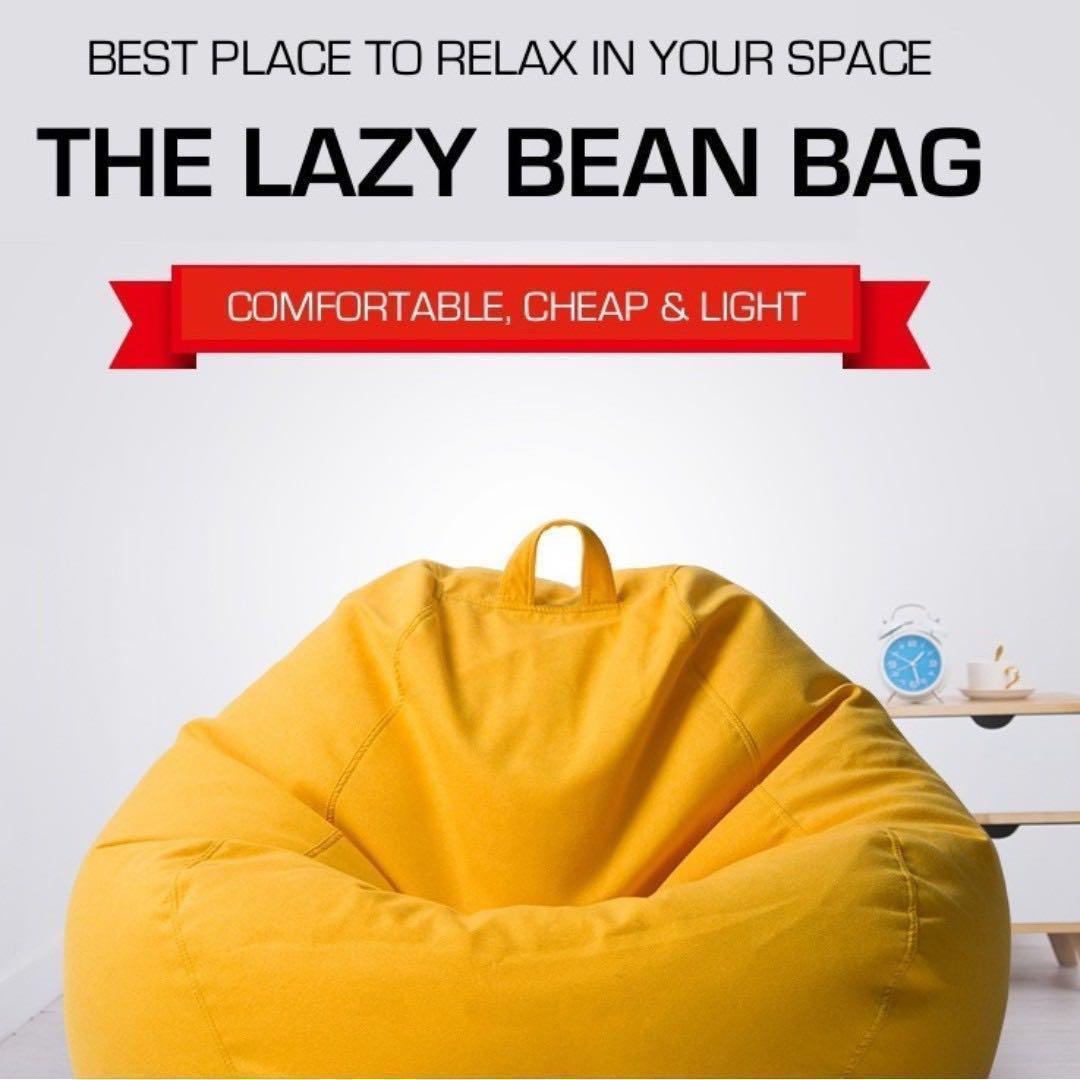 Sensational S 39 9 Lazy Bean Bag Sofa Bean Bag Chair Soft Presell Machost Co Dining Chair Design Ideas Machostcouk