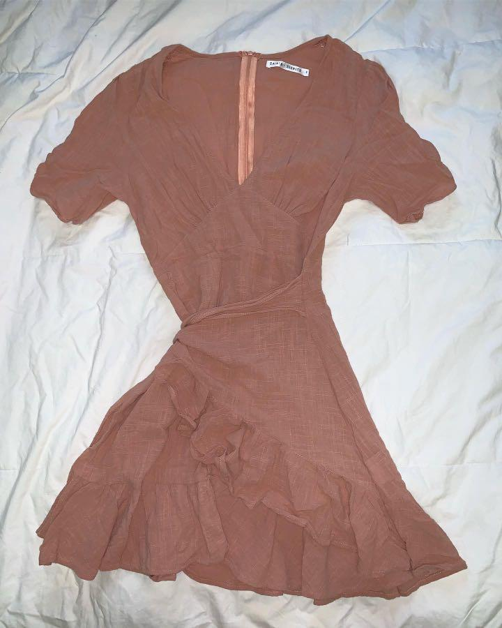 Saints + Secrets (Showpo) By the Book Dress in Pink - AU Size 6