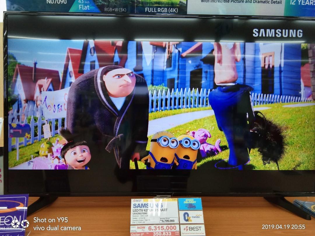 """Samsung LED TV 43"""" Promo cicilan 0% bisa credit tanpa CC"""