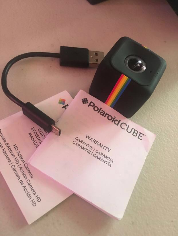 3fb3ab778b SHOPPE RK: POLAROID CUBE + HD 1080p ACTION CAMERA, Photography on Carousell