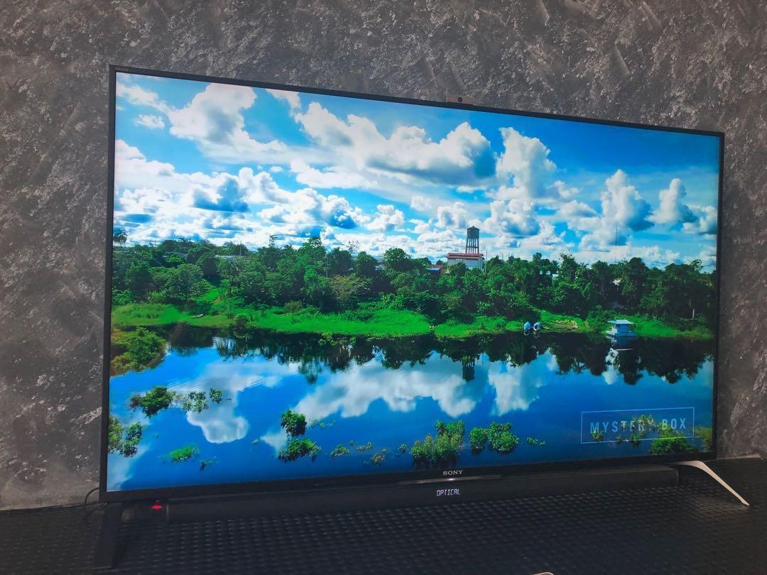 "Sony 55"" 4K UHD LED 3D TV - Excellent Condition"