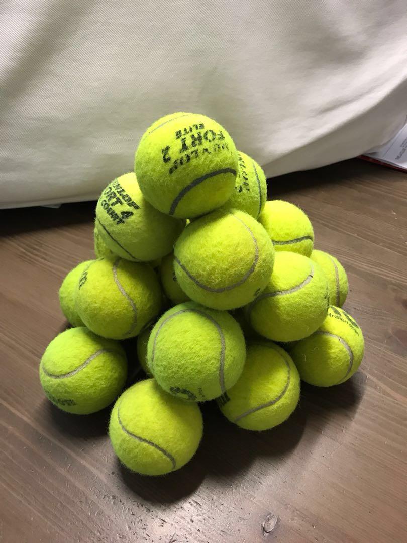 Tennis ball HKD2/ pc (min order 10 pcs)