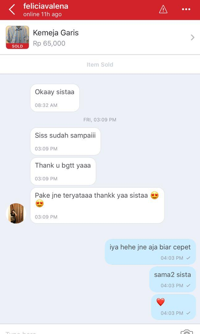 THANKS CUSTOMER ❤️