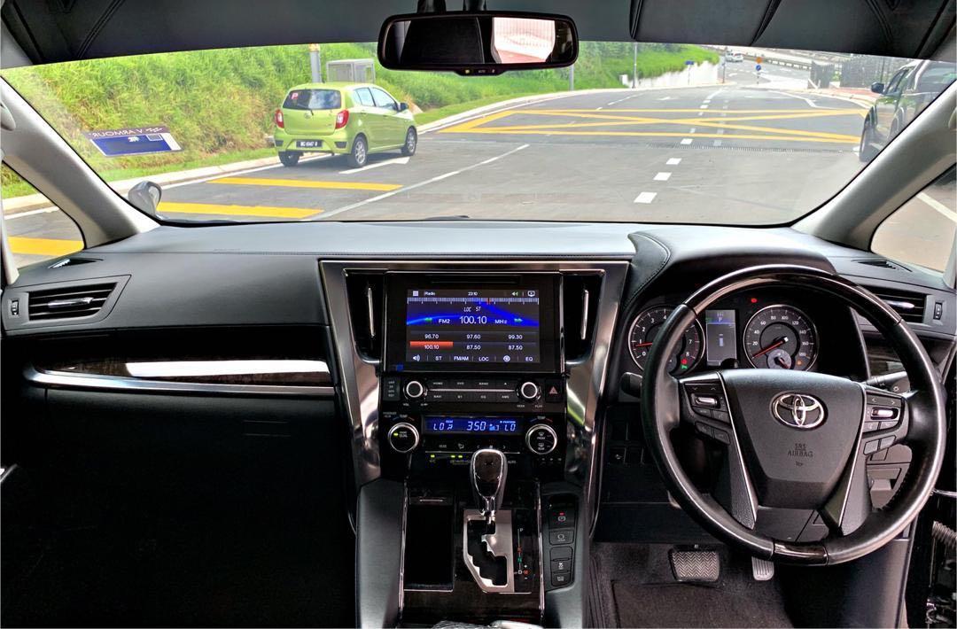TOYOTA ALPHARD 2.5 GS FULLSPEC AUTO 7 SEATER PILOT SEAT SEMI LEATHER