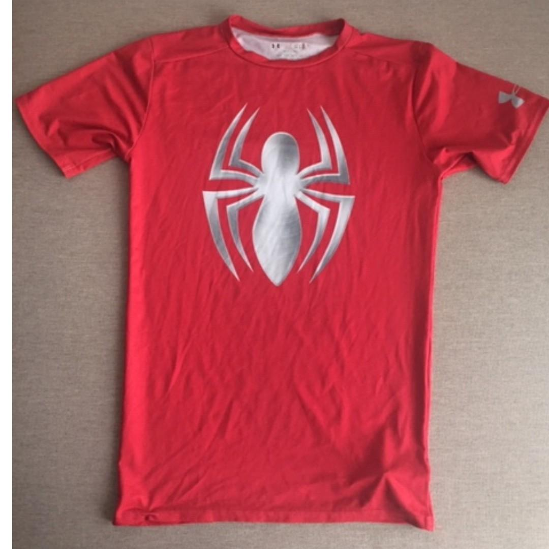 Under Armour Limited Edition Spiderman Compression Shirt