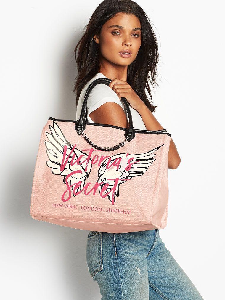 b268bff2d Victoria's Secret Angel City Tote Bag, Women's Fashion, Bags ...