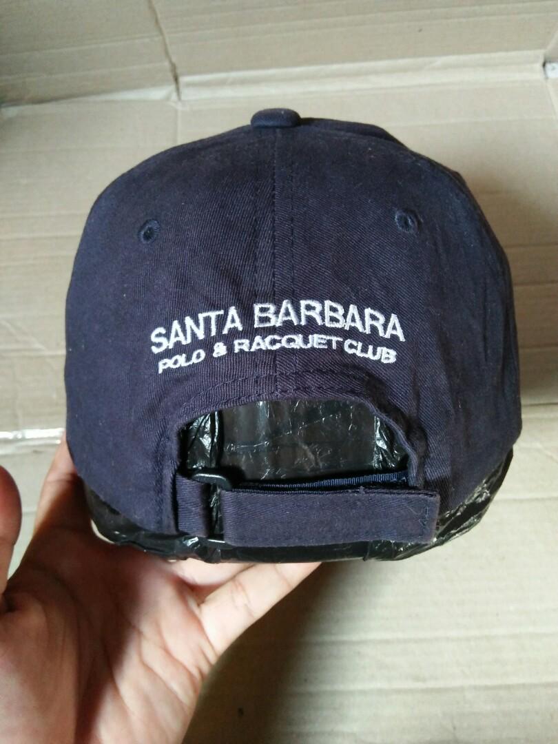Vintage POLO & RACQUET CLUB Santa Barbara Cap Vintage authentic Since: 1911 Original made in Japan Rare/Limited edition Size: Free/all size(pakai strap belakang,bisa di setel sesuai ukuran kepala) Full tag logo brand kondisi 97% sangat mulus