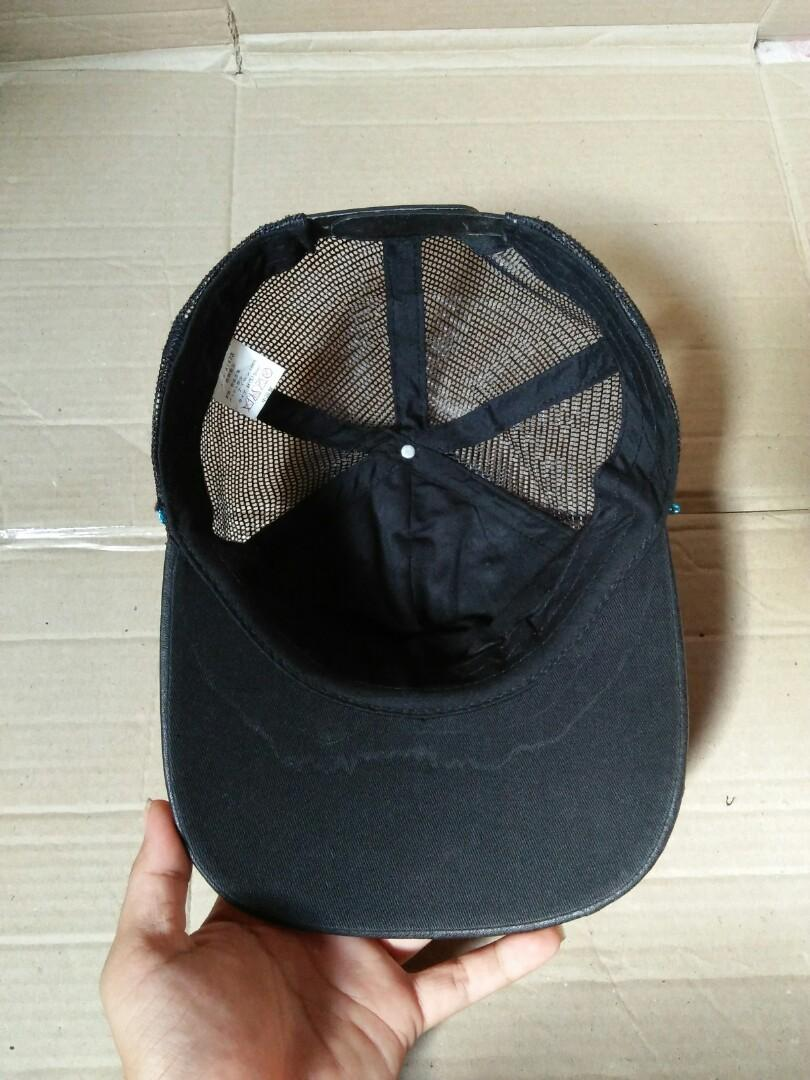Vintage Trucker Hats United Kingdom Rock Steddy Original made in Japan Vintage authentic Rare kondisi: 95% mulus