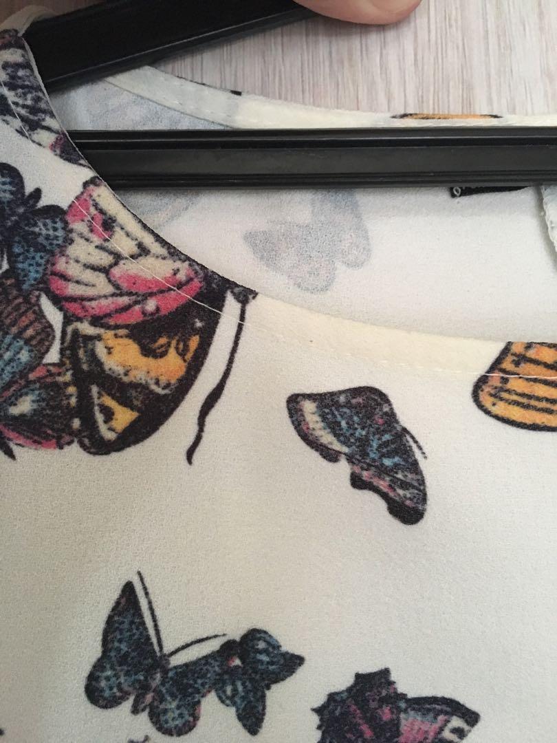 Zara portugal butterfly preloved