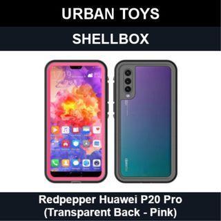 Shellbox Waterproof Case Huawei P20 Pro / Pink