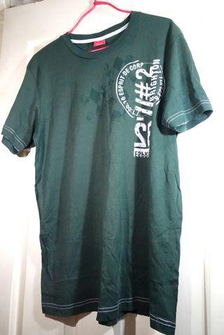 ESPRIT 綠色 T-shirt 上衣