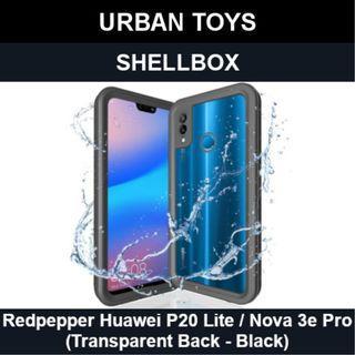 Shellbox Waterproof Case Huawei P20 Lite/Nova 3e Pro/Black