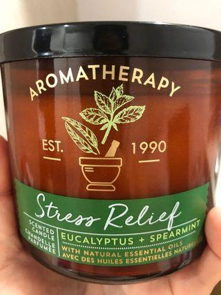 🚚 Aromatherapy Eucalyptus and Spearmint scented candle