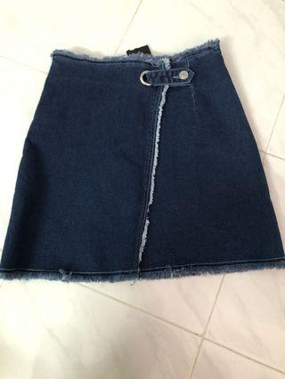 BNWT Denim Skirt (Dark)