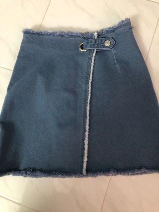 BNWT Denim Skirt (Light)
