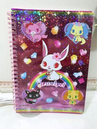 寶石寵物官品Jewelpet筆記本 簿 兒童文具