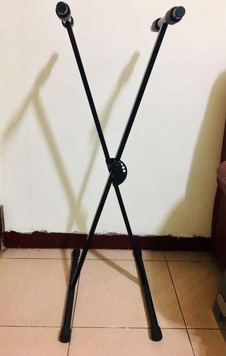 X型單管可調式五段電子琴架