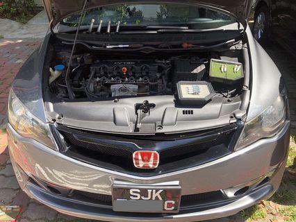 Honda Civic FD1.8A Hurricane Air Filter & Spark Plug