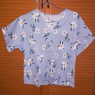 Flower blouse zara look alike