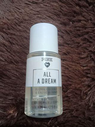 Victoria Secret PINK SERIES body mist - ALL A DREAM