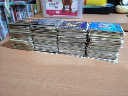 收藏多年 寵物小精靈 食玩 貼紙卡