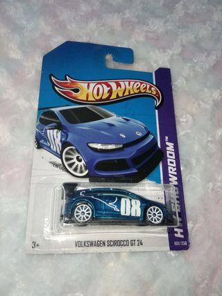 Hotwheels volkswagen scirocco hot wheel hw