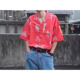 古著 • 夏威夷花襯衫