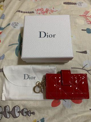 Lady Dior 頂級小牛皮卡夾