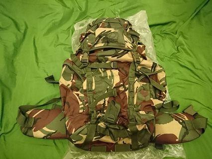 英軍 花紋 PRO-FORCE DPM backpack 迷彩 背囊 背包 44L