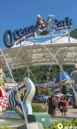 海洋公園成人門票一張$188 超抵(只適用於星期一至五))