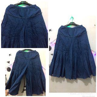 Celana model rok jeans import