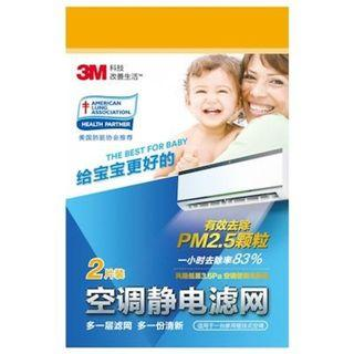 3M Filtrete Air Con Filter (2 Pc pack)