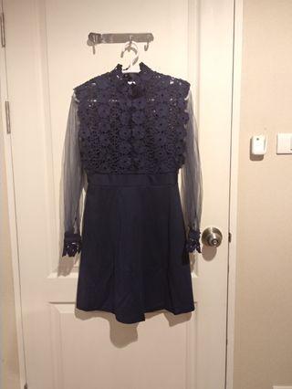 Lace Dress Fit to L Import Bangkok