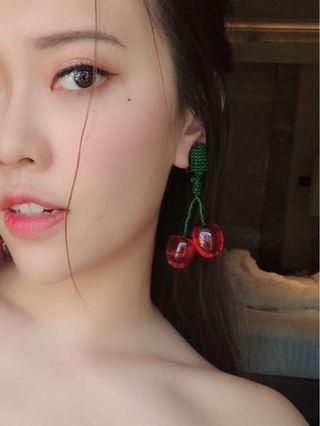 可愛摩登耳環冇耳洞耳夾