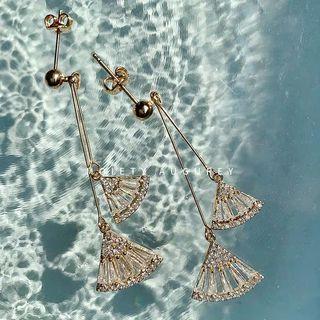 設計感韓國復古耳夾耳環