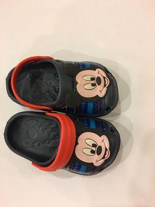 🚚 Shoes mikki mouse sandal for boy 1yo