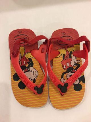 🚚 Baby Shoes Havana's mikki mouse size 22