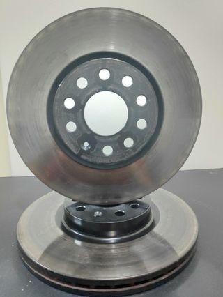 OEM Brake Disc Rotor Volkswagen Passat, Passat CC & CC, Cross Touran, Tiguan, Scirocco, Golf, Jetta, Audi Q3, A3,