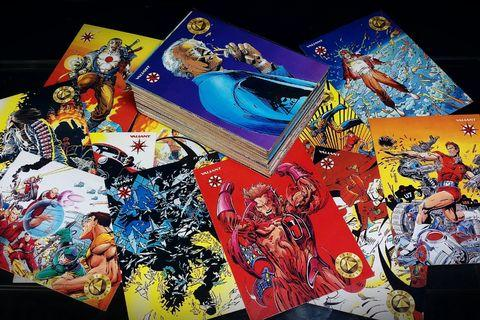 The VALIANT ERA : A History of the Valiant Universe Series 1 (1993, Upperdeck) [128 Card Lot] Not Marvel DC