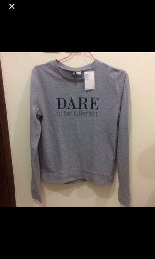 H&M Grey Sweater #ramadansale