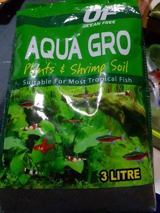 Aquatic soil - aqua gro plant n shrimp soil