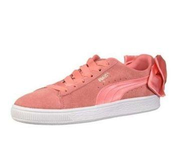 Puma Shoes suede bow