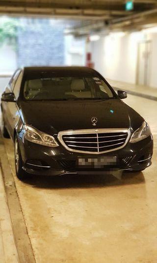 Mercedes Benz E250 7G New Facelift