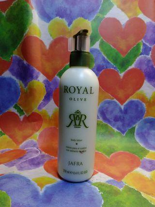 Jafra Royal Olive Body Lotion share in jar 15gr (2533)